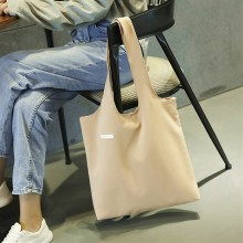 Women Canvas Bag Casual Large Capacity Shoulder Bag Tote Bag