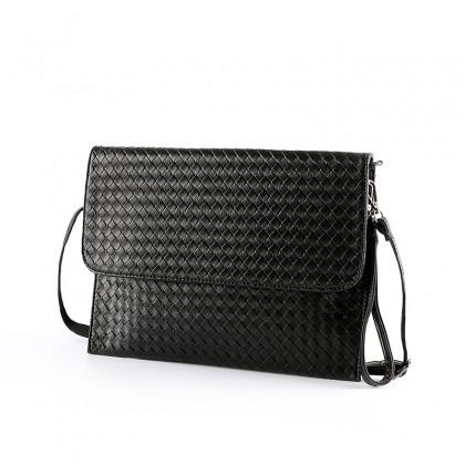 Men's Hardened Stereotype Envelope Bag Clutch Bag Thin Section Shoulder Bag