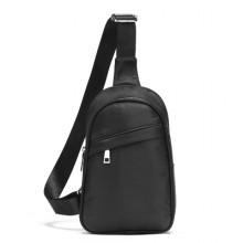 Men's Waterproof Chest Bag Oxford Canvas Shoulder Bag Backpack