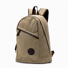 Men's Casual Backpack Canvas Bag Travel Computer Bag Fashion Trend Student Bag