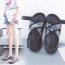 Women's Thick Bottom Open Toe Sandals Retro Student Shoes