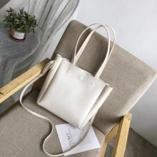 Women's Simple Large Capacity Bag Tote Bag Student Shoulder Messenger Bag