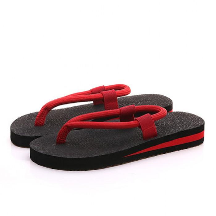 1c29038a8e8eb7 Men s Summer Flip-Flops Slippers Thick Bottom Beach Shoes Casual ...