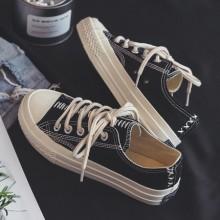 Men's Autumn Canvas Shoes Student Shoes Board Casual Shoes Breathable Tide Shoes
