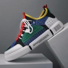 Men's Summer Couple Shoes Breathable Canvas Shoes Non Slip Sports Shoes
