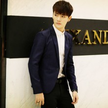 Men's Small Suit Slim Business Casual Suit Trend Teen Coat Plus Size Jacket