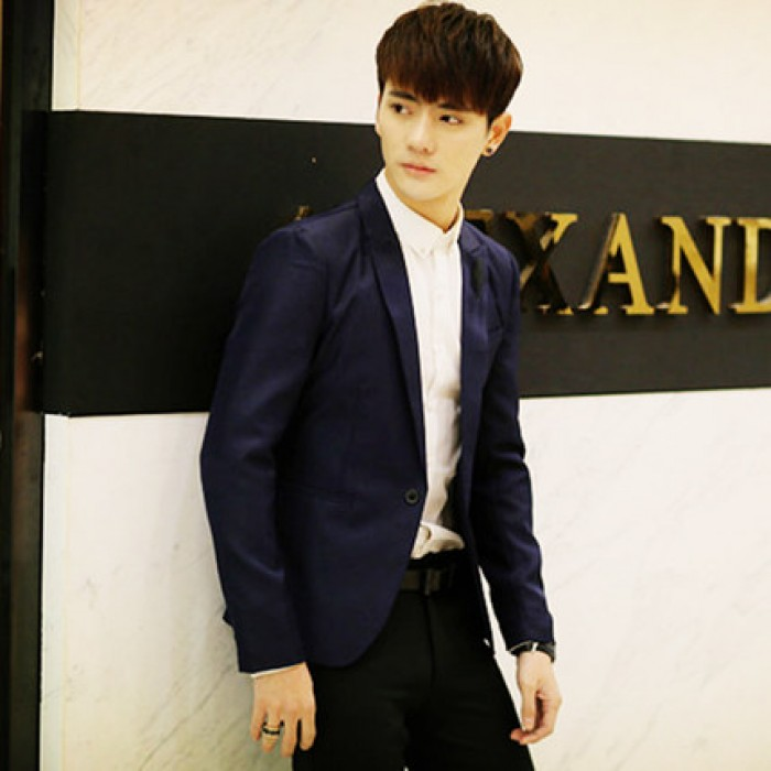 d3172171212 Men s Small Suit Slim Business Casual Suit Trend Teen Coat Plus ...