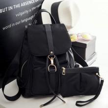 Men's Large Capacity Backpack Shoulder Bag Vertical Square Bag