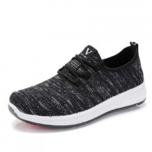 Women's Cloth Shoes Single Shoes Flat Casual Sports Running Plus Size Shoes