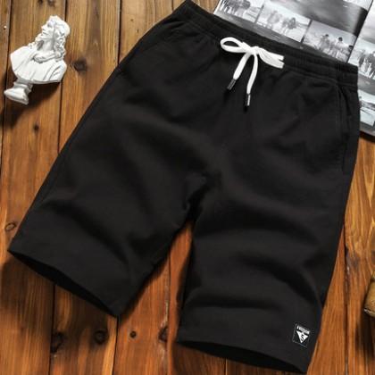 Men's Summer Shorts Large Size Casual Pants Loose Pants Beach Plus Size Pants