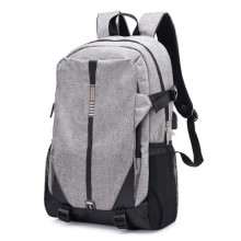 Men's College Student Backpack  Business Travel Bag Large Capacity Bag