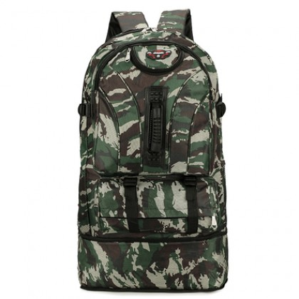 Men's Outdoor Leisure Backpack Camouflage Large Capacity Bag Travel Bag