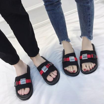 Men's Summer Couple Slippers Non Slip Beach Sandals Lightweight Slippers