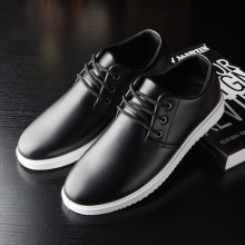 Men's Casual Shoes Students Shoes Round Shoes Low Heel Shoes