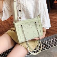 Women Lace Chain Bag Mother Bag Shoulder Diagonal Mobile Handbag