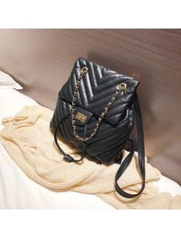 Women Summer Backpack Soft Leather Travel Large Backpack Student Bag