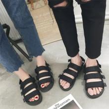 Men's Couple Slippers Flip Flops Casual Non Slip Beach Shoes