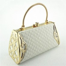 Women Diamond-Encrusted Evening Bag Lady Handbag Cosmetic Bag