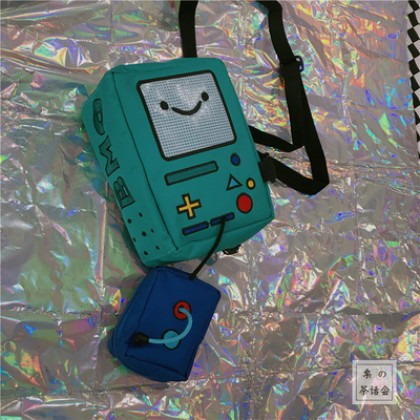 Men's Cute Fan Game Bag Small Bag Shoulder Bag Messenger Bag