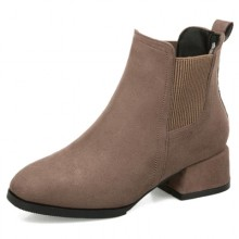Women Winter Boots  Plus Size Students Thick Boots Winter Round Head Boots