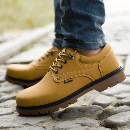 Men's Autumn Breathable Tooling Shoes Big Business Casual Shoes