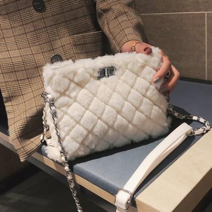 Women's Trendy Fairy Wild Rhombic Chain Shoulder Bag