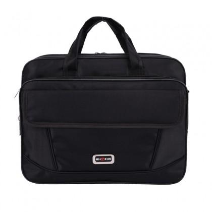 Men's Casual Business Tote Oxford Handle File Handbag