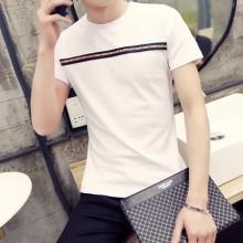 Plus Size XXL Men T-Shirt Short Sleeve