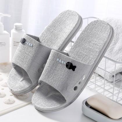 Men's Summer Home Bathroom Non-Slip Plastic Slippers Couples Slippers