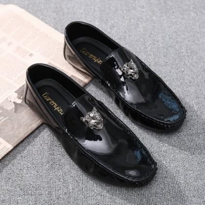 Men's Casual  Korean Trend  Wild Lazy  Peas Shoes