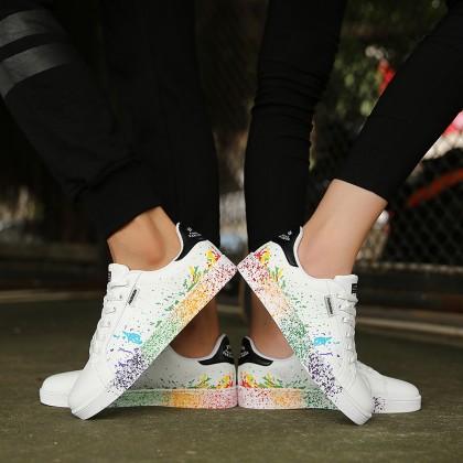 Men's Korean Trend Shell Head Rubber Unisex Shoes