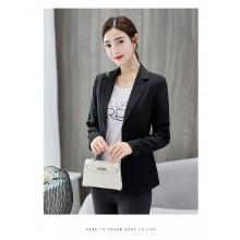 Women Korean Fashion Elegant Casual Suit Jacket