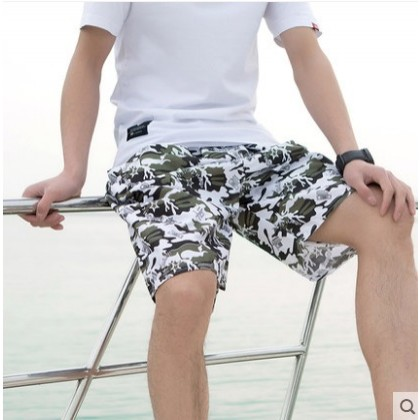 Men's Summer Trend Loose Large Casual Beach Shorts