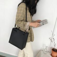 Women Korean Trend Retro Chic Shoulder Sling and Tote Bag
