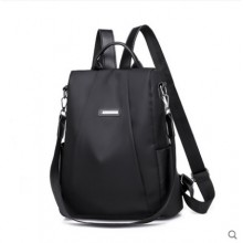 Women Korean Trend Anti Theft Oxford Cloth Canvas  Backpack