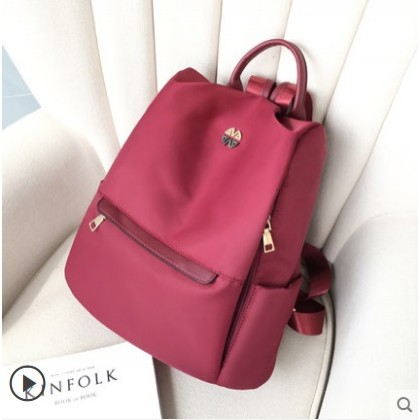 Women Korean Trend Anti Theft Foldable  Travel Backpack