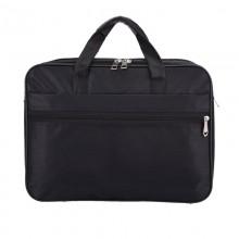 Men's Canvas Tote Briefcase Oxford Handle and Shoulder Bag