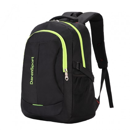 Men's Korean Fashion  Travel Backpack with Cotton Back Cushion