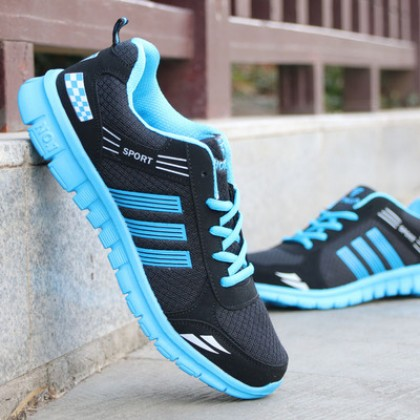 Men's Sport's Life Series Soft Bottom Breathable Sport Shoes Plus Size