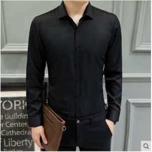 Men's  High Fashion Working Casual Business Long Sleeved Plus Size