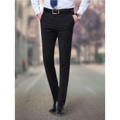 Men's Korean Formal Office Business Working  Slim Suit