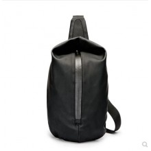 Men's Korean Trend Vertical Square Shoulder Strap Style Chest Bag