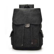 Men's Korean Trend College Travel and School  Canvas Bag
