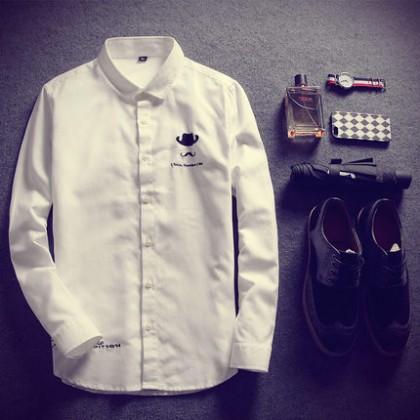 [READY STOCK] XXXL Men Shirts Long Sleeve