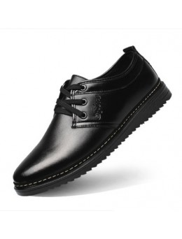 Men's High Fashion Low Heel Round Head Casual Shoes