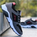 Men's Korean Trend Non Slip Wear  Casual Running Shoes