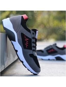 Men's Korean Trend Non Slip Wear  Casual Running Shoes
