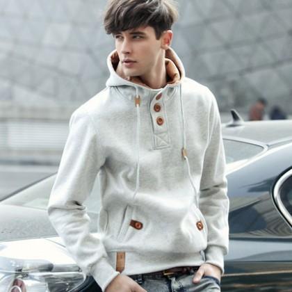 Jacket Hooded Sports Men Plus Size