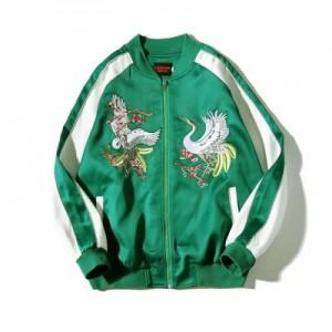 """Men's Korean Trend  Biker"""" & Bomber Jacket Dragon Coat"""