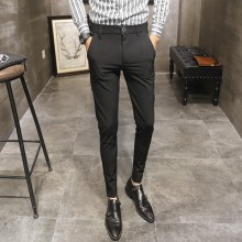 Men's Plus Size Formal Office Working Suit Slim Fit Trouser